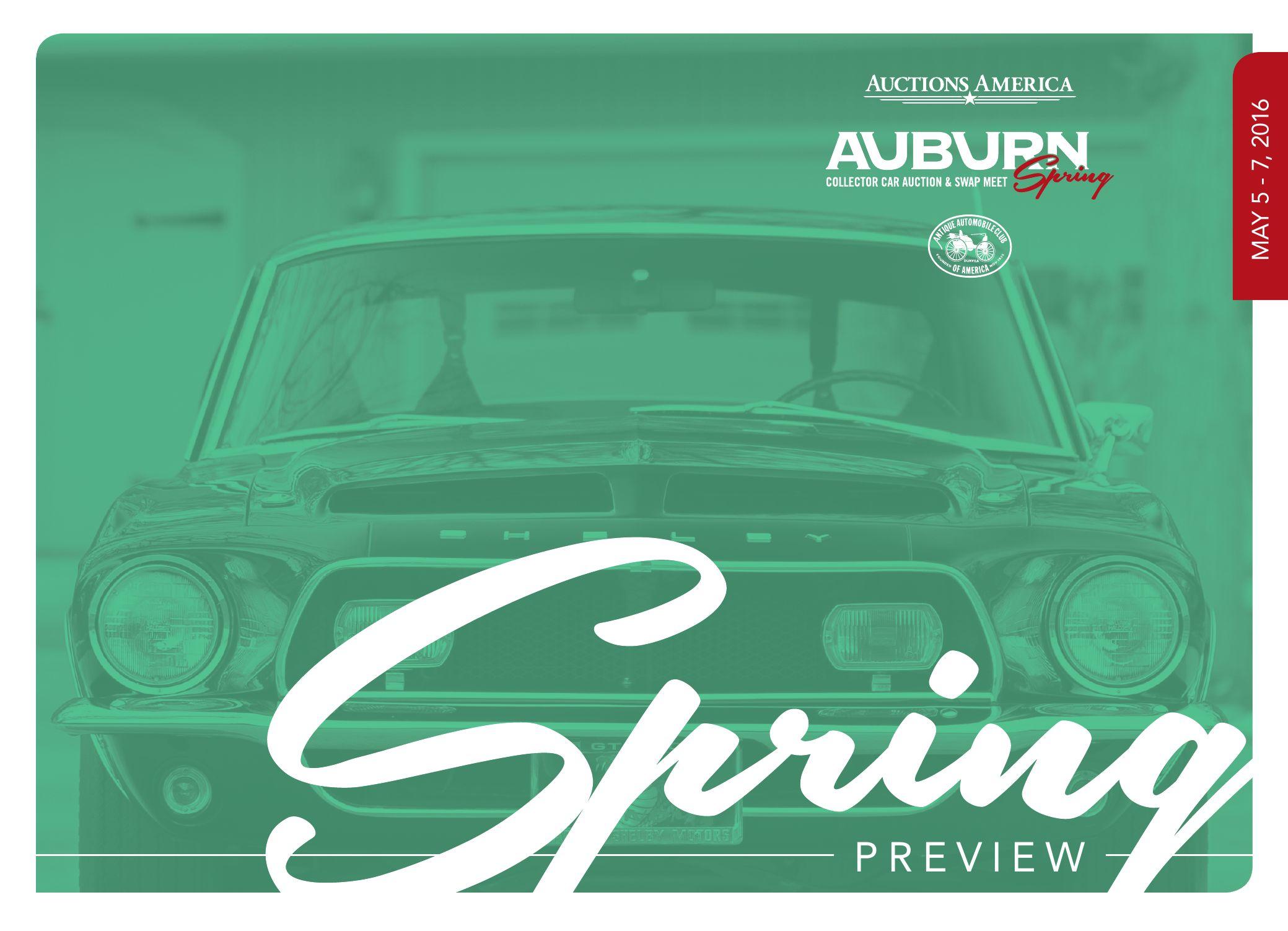 Auburn Spring, 2016