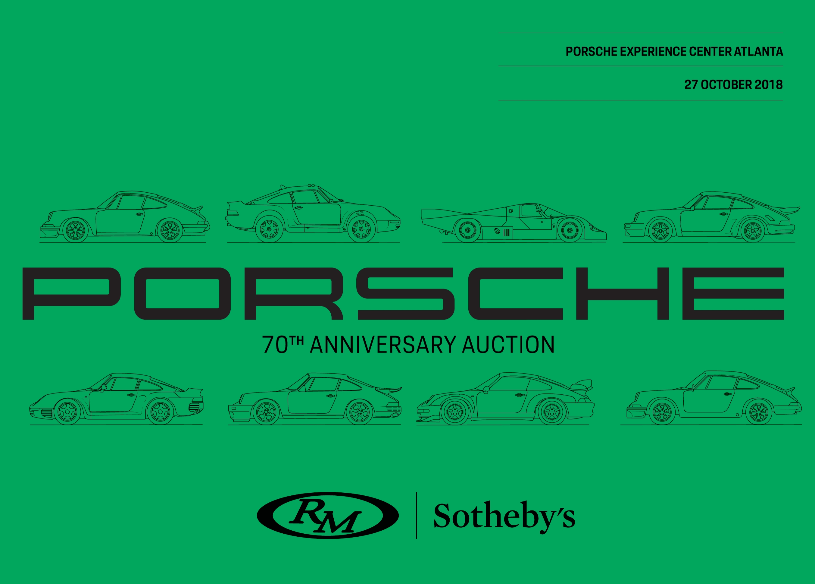 The Porsche 70th Anniversary Sale, 2018